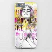 Give me purpose  iPhone 6 Slim Case