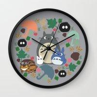 Troll Wreath Wall Clock