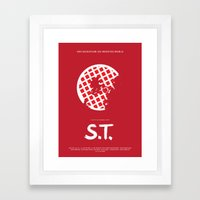 S.T. Framed Art Print