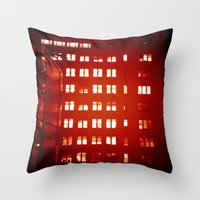 Everyone Is Awake Throw Pillow