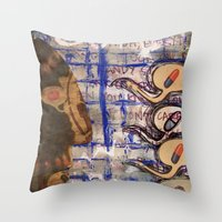 Cured. Throw Pillow