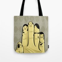 The Finger Family Tote Bag