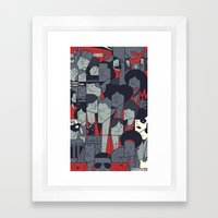 The Warriors Framed Art Print