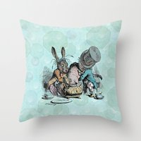 Tea Party (the real one) Throw Pillow