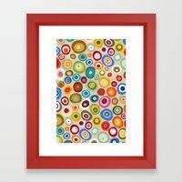 freckle spot cream Framed Art Print
