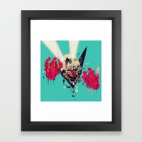 Hero Eater Framed Art Print