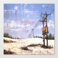 March First Canvas Print