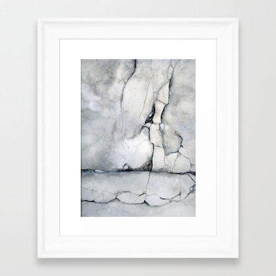 Walk On Framed Art Print