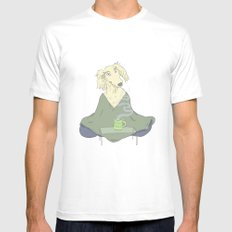 Doga Yoga SMALL White Mens Fitted Tee