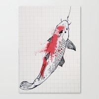 Koi Canvas Print