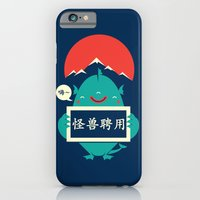 monster for hire iPhone 6 Slim Case