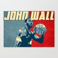 John Wall Canvas Print