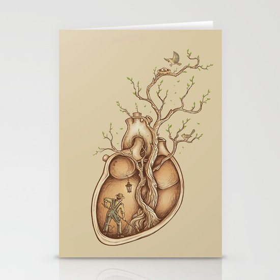 Tree of Life Stationery Card