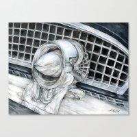55 Thunderbird Classic C… Canvas Print