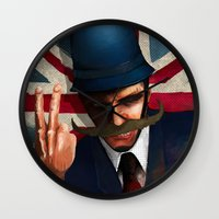 The bollocks Wall Clock