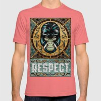 Respect Mens Fitted Tee Pomegranate SMALL