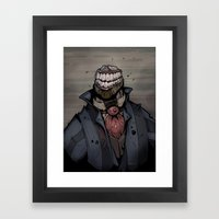 Best Dressed Monster Framed Art Print