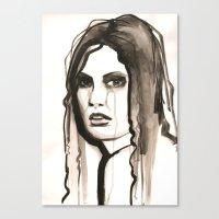 Tears Of ..... Canvas Print