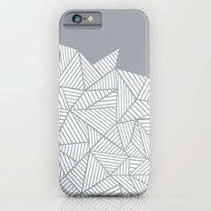 Abstract Mountain Grey Slim Case iPhone 6s