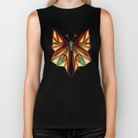 fox or butterfly?  Biker Tank
