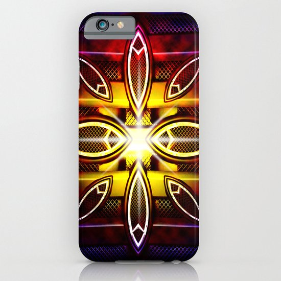 Abstract metal 1 iPhone & iPod Case