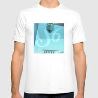 Society 6 Mens Fitted Tee White SMALL
