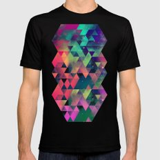 nyyt tryp SMALL Mens Fitted Tee Black