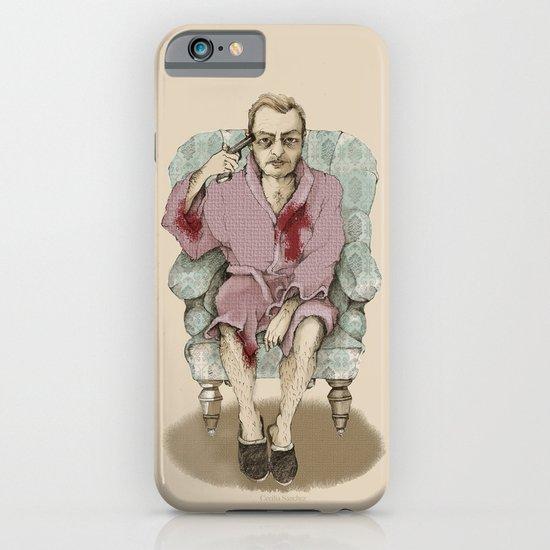 In bathrobe iPhone & iPod Case