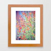 Garden Song Framed Art Print