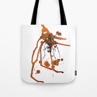 Insect in Ink 01 Tote Bag