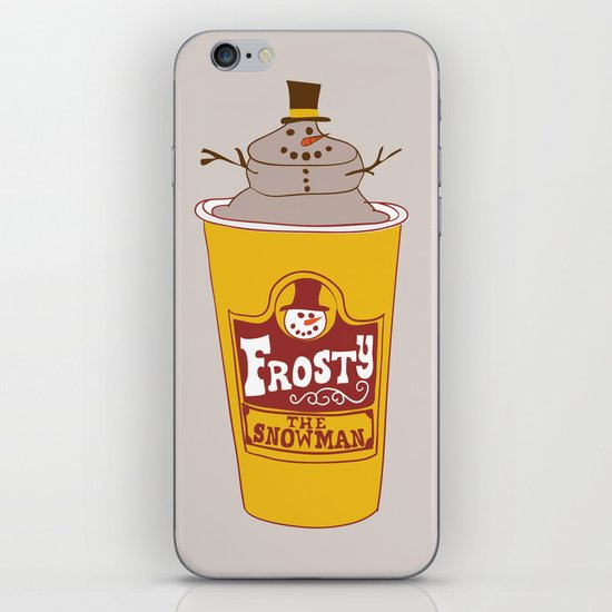 Frosty the Snowman iPhone & iPod Skin