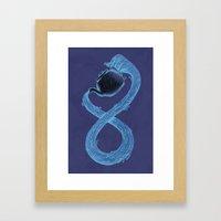 Infinite Tea Framed Art Print