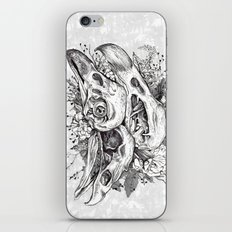 Skull Pile iPhone & iPod Skin
