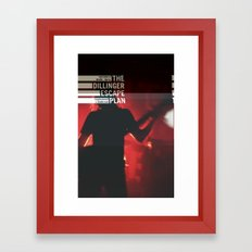 The Dillinger Escape Plan live aus Berlin Framed Art Print