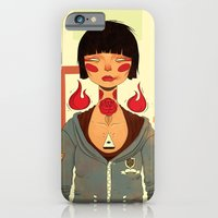 iPhone Cases featuring Penny Lee by igorras