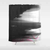 Out of Range Shower Curtain