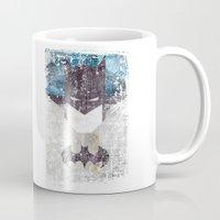 Bat grunge superhero Mug