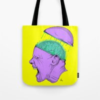 Brain Stain Tote Bag