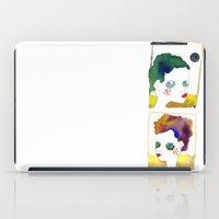 no name but a frame iPad Case
