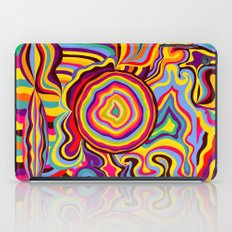 The Dancing Colors iPad Case
