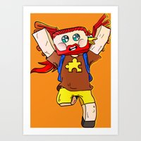 Getting Jiggy With It - … Art Print