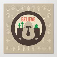 Believe Skoggs Troll Canvas Print