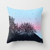 Ready for the summer! Throw Pillow