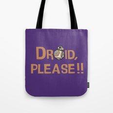 Please!! Tote Bag