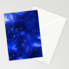 Galaxy Blue Stationery Cards