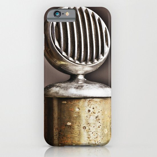 microphone iPhone & iPod Case