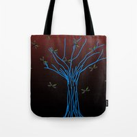 Dragonflies Tote Bag