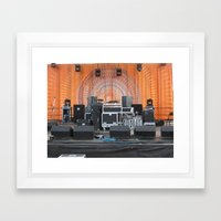 Gear Framed Art Print