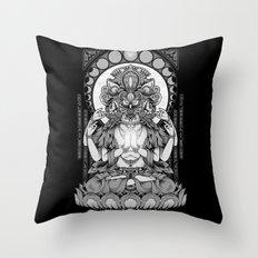 Sacred Ascetic Throw Pillow
