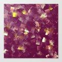 purple digital painting Canvas Print